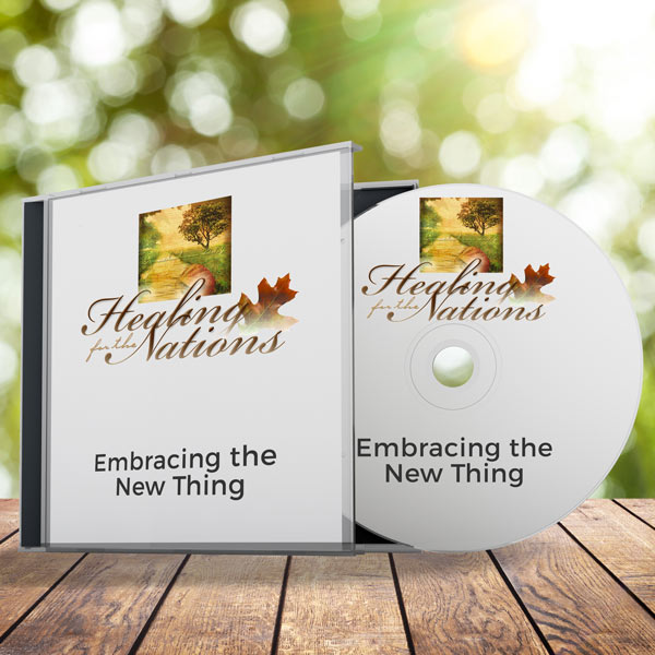 Embracing the New Thing audio CD